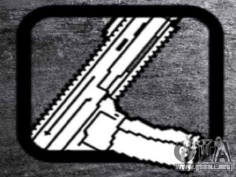 CZ805 para GTA San Andreas sucesivamente de pantalla
