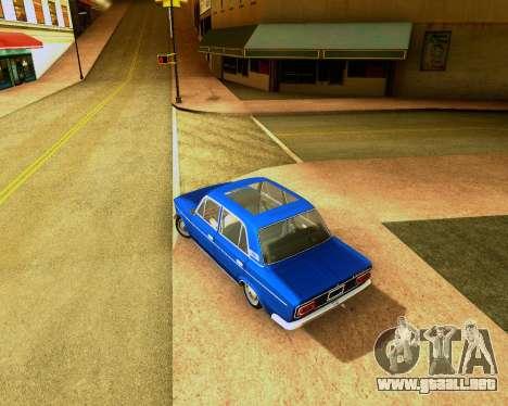VAZ 2103 Sintonizable para GTA San Andreas vista posterior izquierda