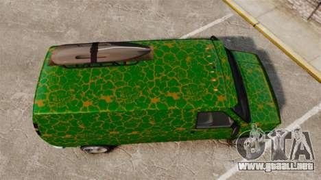 GTA V Bravado Rumpo para GTA 4 visión correcta