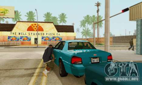 Vapid Stanier II 1.0 para vista inferior GTA San Andreas