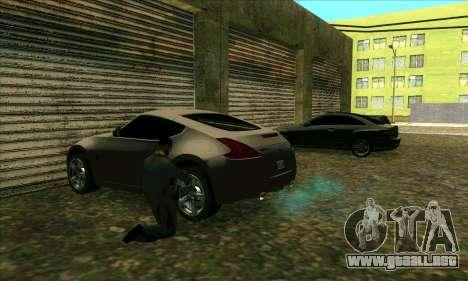 Servicio de coche de centro de Sijia en Las Vent para GTA San Andreas segunda pantalla
