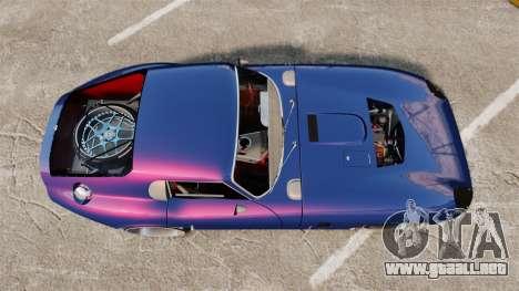 Shelby Cobra Daytona Coupe para GTA 4 visión correcta