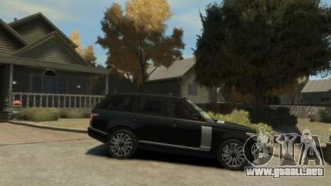 Range Rover Vogue 2014 para GTA 4 left