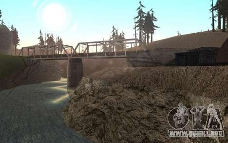 RoSA Project v1.4 Countryside SF para GTA San Andreas novena de pantalla