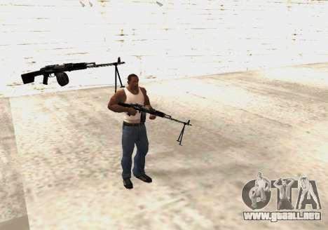 RPK-203 para GTA San Andreas sexta pantalla