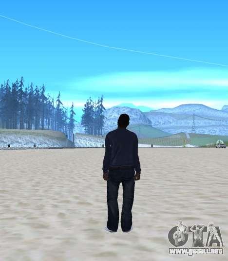 New Maddogg para GTA San Andreas segunda pantalla
