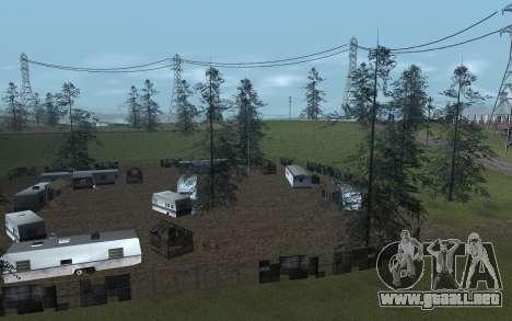 RoSA Project v1.4 Countryside SF para GTA San Andreas segunda pantalla