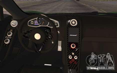 McLaren 650S Spyder 2014 para la visión correcta GTA San Andreas