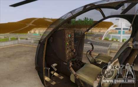 MH-6 Little Bird para la visión correcta GTA San Andreas