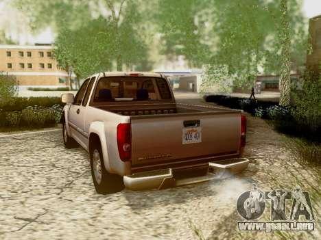 Chevrolet Colorado para las ruedas de GTA San Andreas