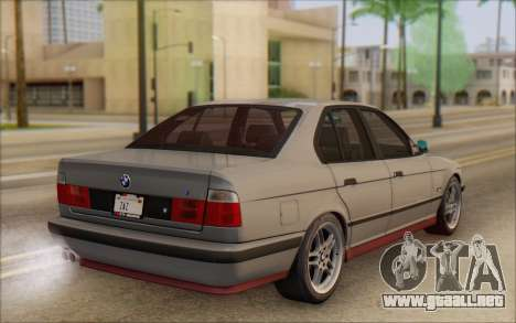 BMW M5 E34 1995 para GTA San Andreas left