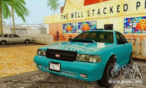 Insulso Stanier II 1.0 [без FIV] para visión interna GTA San Andreas