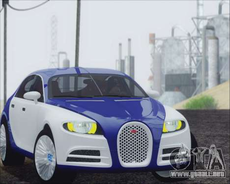 Bugatti Galibier 16c Final para GTA San Andreas