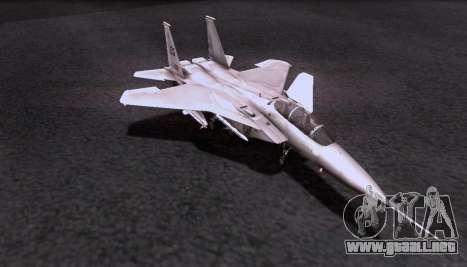 F-15S para GTA San Andreas vista hacia atrás