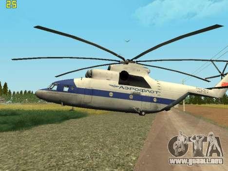 Mi 26 Civil para la visión correcta GTA San Andreas