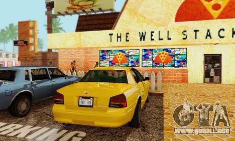 Vapid Stanier II 1.0 para GTA San Andreas vista hacia atrás