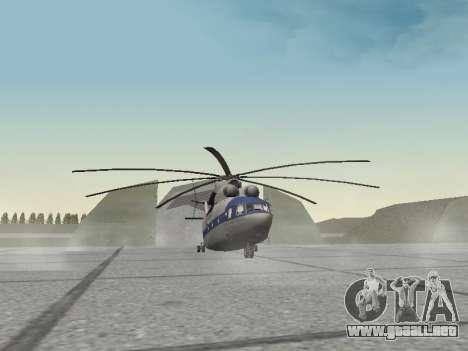 Mi 26 Civil para GTA San Andreas left