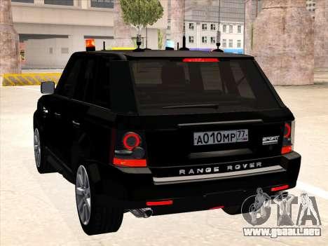 Range Rover Sport para la visión correcta GTA San Andreas