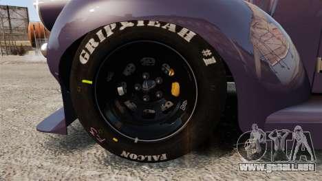 Dumont Type 47 para GTA 4 vista hacia atrás