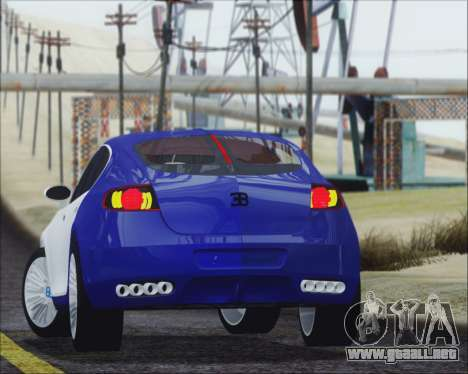 Bugatti Galibier 16c Final para GTA San Andreas left