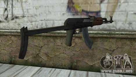 AKM Assault Rifle para GTA San Andreas segunda pantalla