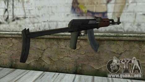 AKM Assault Rifle para GTA San Andreas segunda pantalla