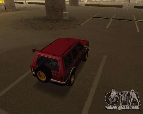 Landstalker V2 para la visión correcta GTA San Andreas