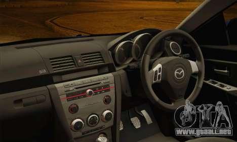 Mazda Axela Sport 2005 para la visión correcta GTA San Andreas