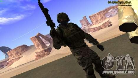 U.S. Navy Seal para GTA San Andreas sexta pantalla