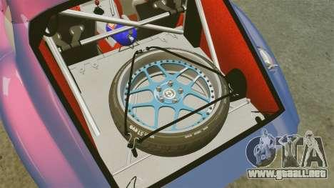 Shelby Cobra Daytona Coupe para GTA 4 vista lateral