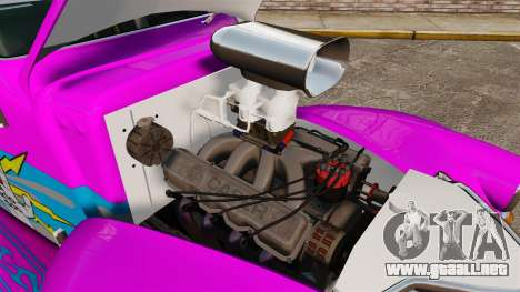 Dumont Type 47 para GTA 4 vista interior