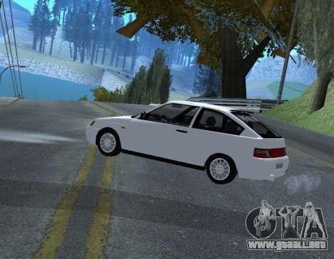 ВАЗ 2112 GVR Versión 1.1 para GTA San Andreas left