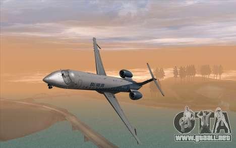 Embraer 145 Xp para la visión correcta GTA San Andreas