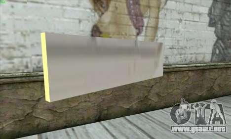 Tastatur Waffe para GTA San Andreas segunda pantalla