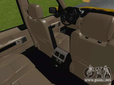 Range Rover Supercharged Series III para la vista superior GTA San Andreas