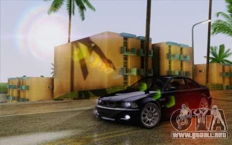 IMFX Lensflare v2 para GTA San Andreas quinta pantalla