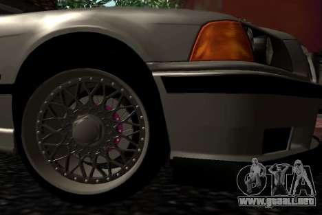 BMW M3 E36 Hellafail para la visión correcta GTA San Andreas
