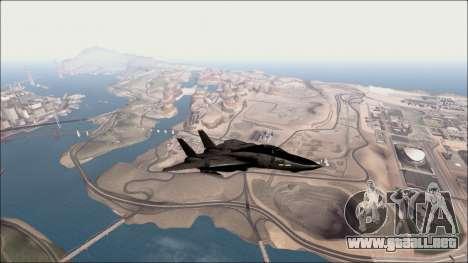 Distance View Mod para GTA San Andreas sucesivamente de pantalla