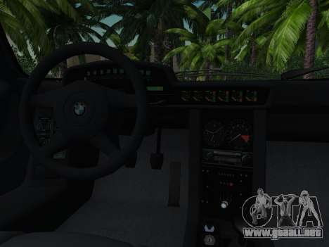 BMW M1 Turbo 1972 para la vista superior GTA San Andreas