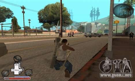 Hermosa C-HUD para GTA San Andreas tercera pantalla
