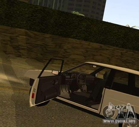 ВАЗ 2108 GVR Versión 1.2 para la visión correcta GTA San Andreas