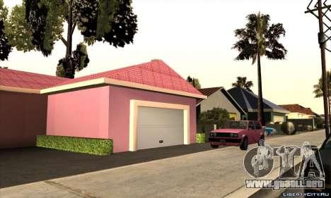 Nueva casa de Mili para GTA San Andreas segunda pantalla