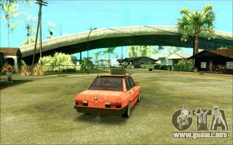 BMW M5 E28 RatStyle para la visión correcta GTA San Andreas