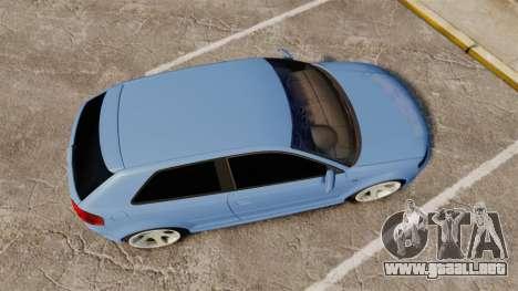 Audi S3 EmreAKIN Edition para GTA 4 visión correcta