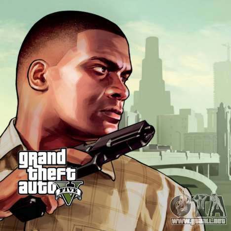 La pantalla de arranque de GTA V para GTA San Andreas segunda pantalla