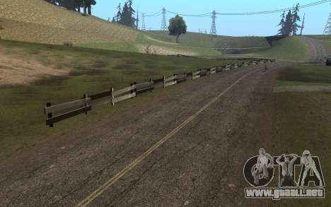 RoSA Project v1.4 Countryside SF para GTA San Andreas séptima pantalla
