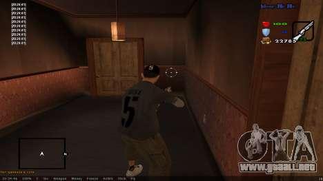 CLEO Skill for 0.3z new version para GTA San Andreas tercera pantalla