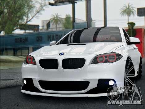 BMW 550 F10 VOSSEN para la visión correcta GTA San Andreas
