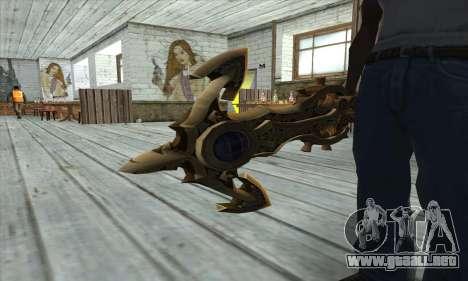 Dragon Nest Warrior Marine Sword para GTA San Andreas tercera pantalla