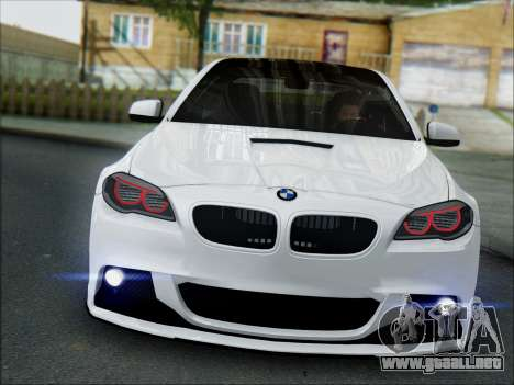 BMW 550 F10 VOSSEN para GTA San Andreas left